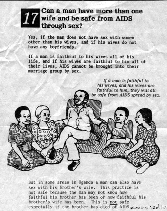 AIDS propaganda