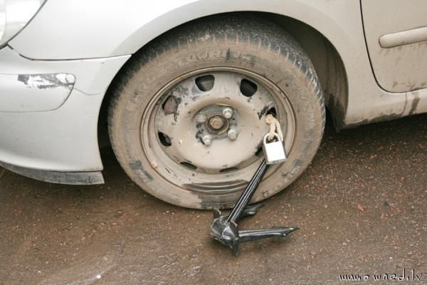 Anti theft device for your car