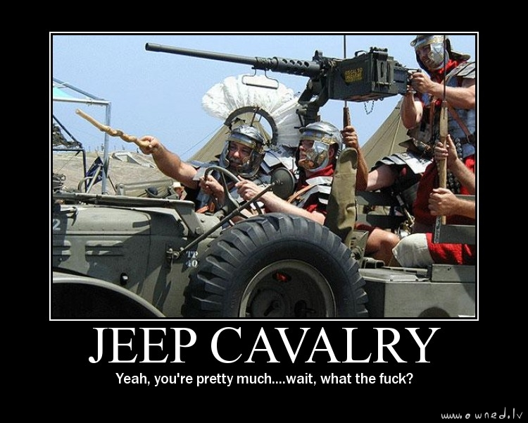 Jeep cavalry