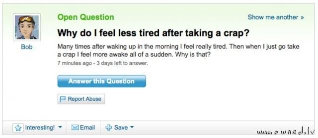 Feel more awake