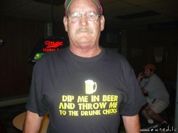 Dip me in beer