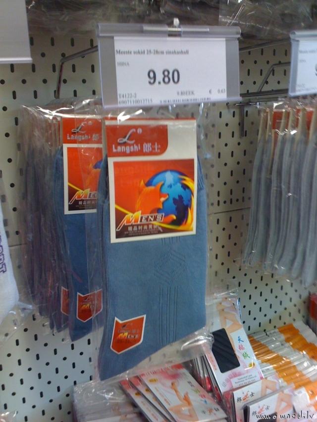 Firefox socks