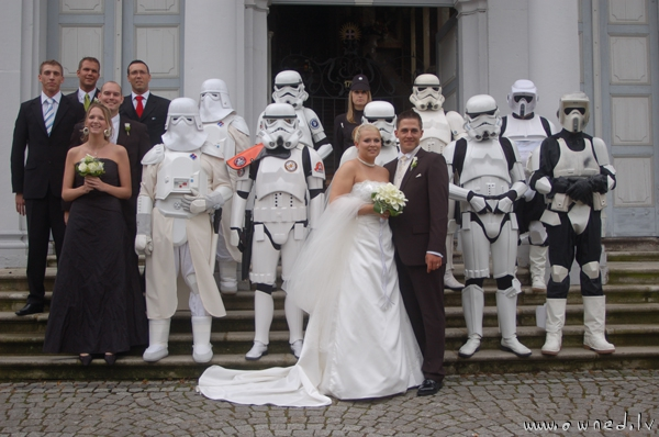 Epic wedding