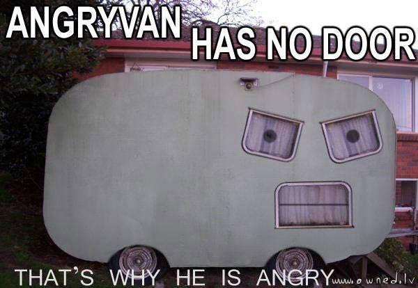 Angry van