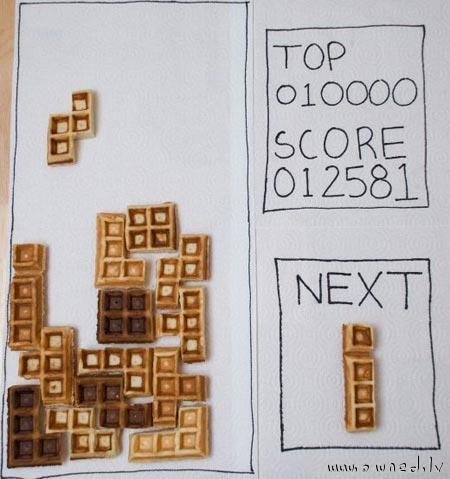 IRL tetris