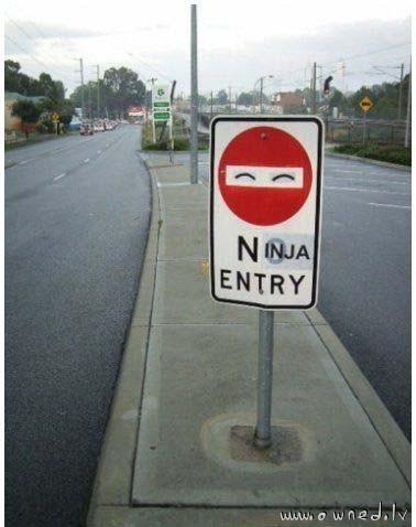 Ninja entry