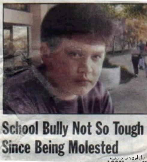 Not so tough