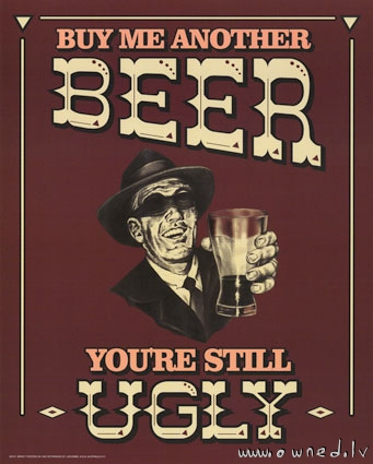 Buy me another beer