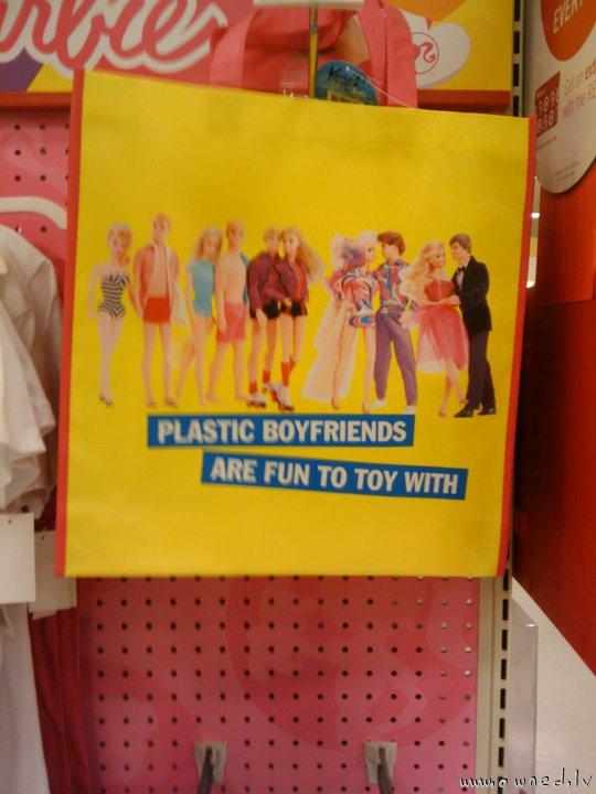 Plastic boyfriends