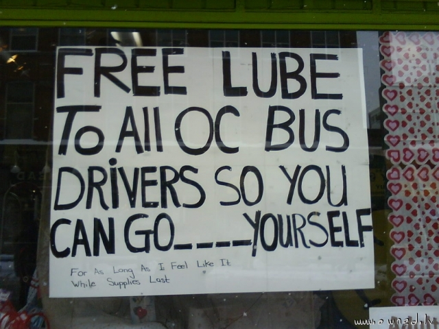 Free lube