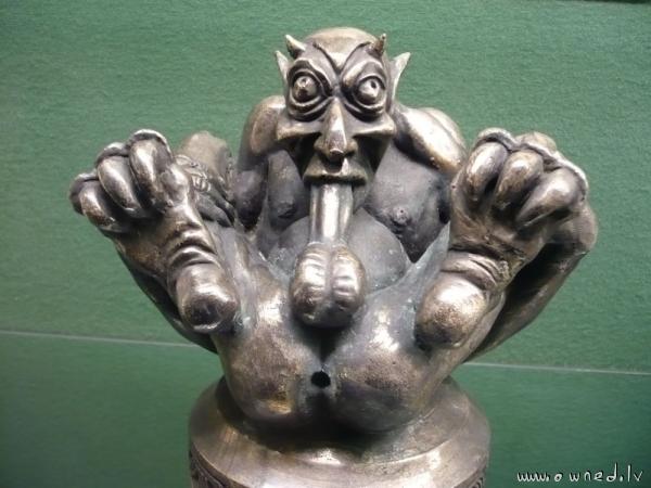 Sick statue