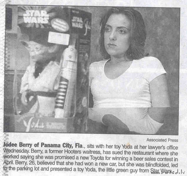 Toyota or Yoda ?