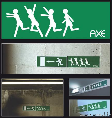 Funny Axe advert