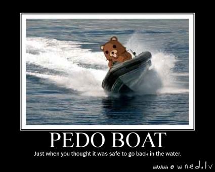 Pedo boat