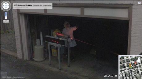 Strange google street view picture