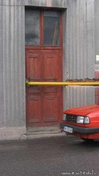 Epic door fail