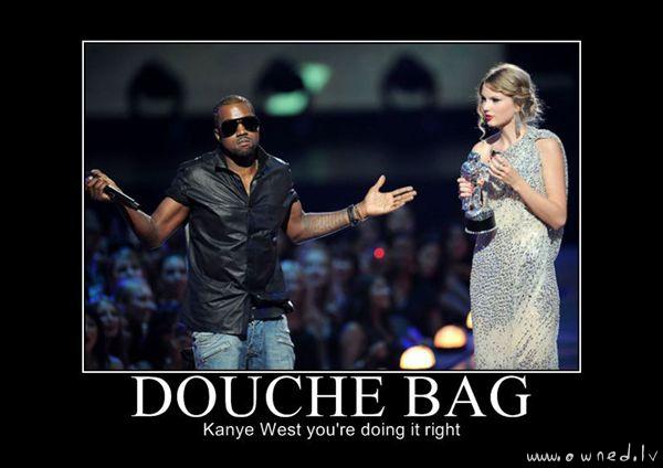 A douche bag