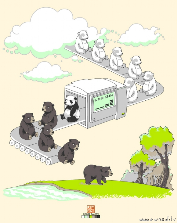 How pandas were made