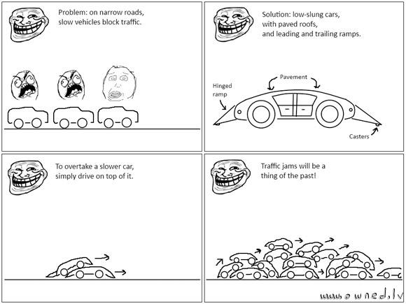 Traffic jam solution
