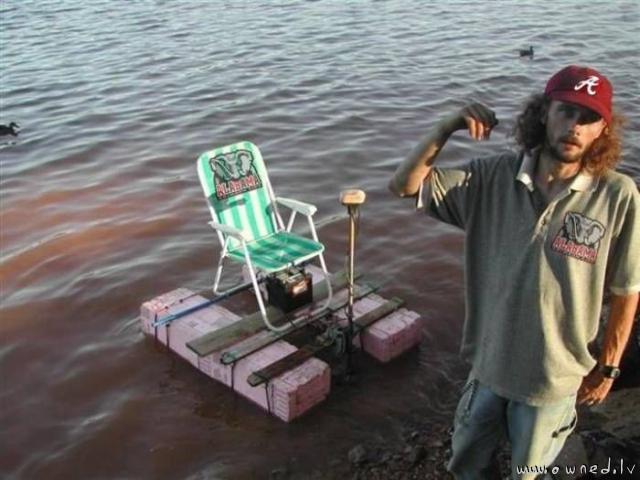 My speedboat