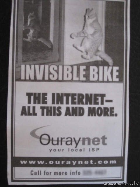 Funny ISP advert