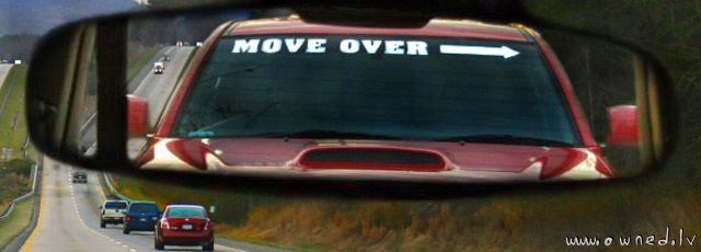Mover over