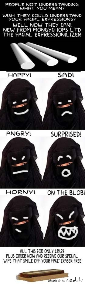 The facial expressionilizer