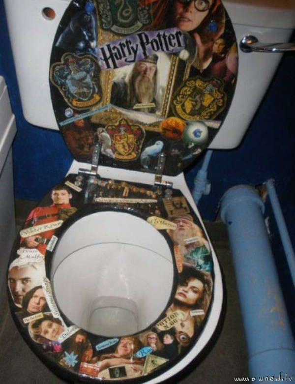 Pimp my toilet