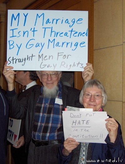Straight men for gay rights