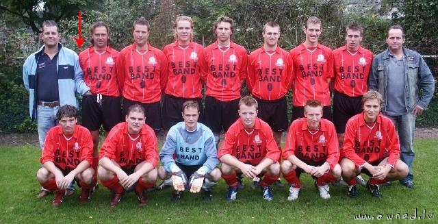 Soccer team ... Check guy on the left side