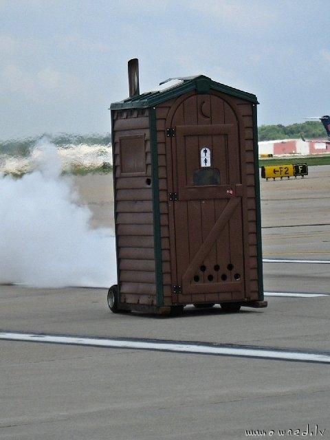 Turbo toilet