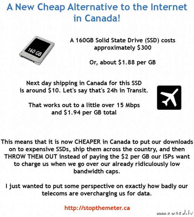 A new cheap alternative to the internet in Canada