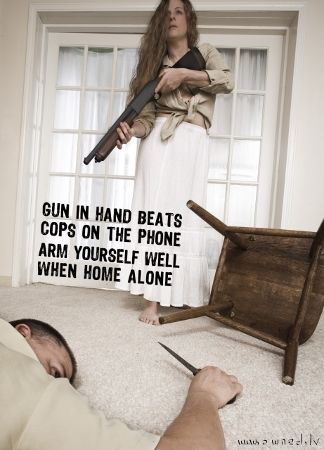 Arm yourself well