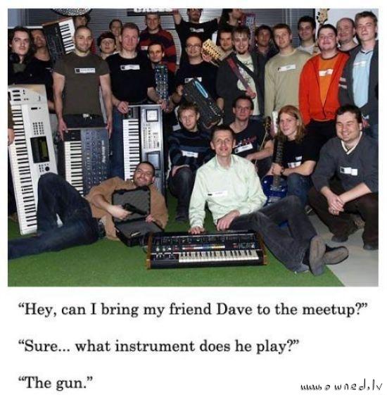 What instrument