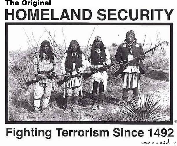 The original Homeland security