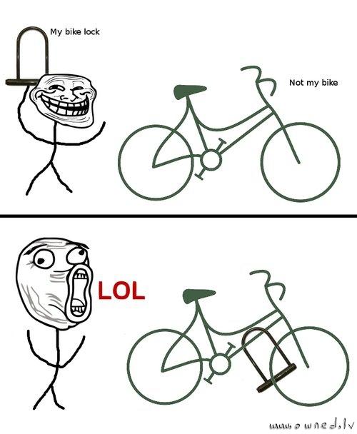 My bike lock