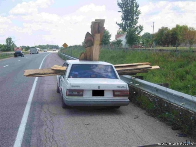 How to transport timber