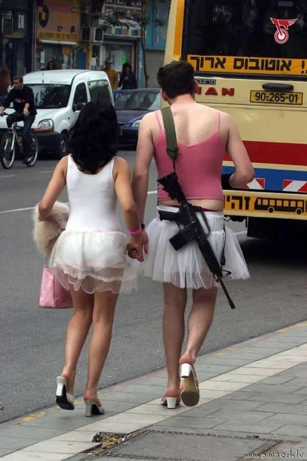 New army uniform ?