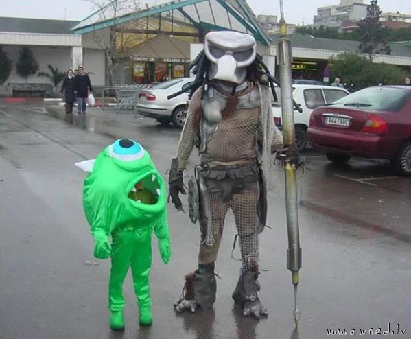 Monster vs Predator