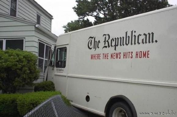 Where the news hits home
