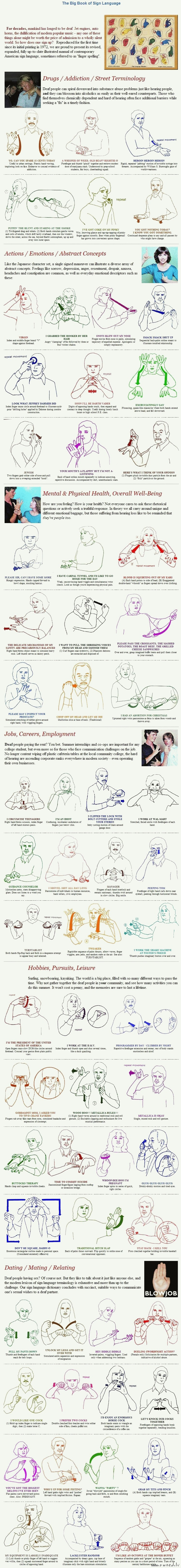 The big book of sign language