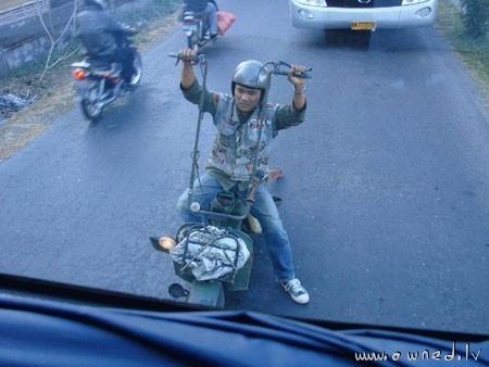 Moped chopper