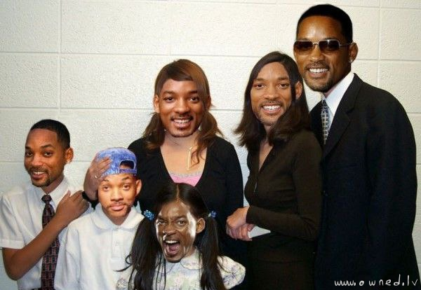 Will Smiths family