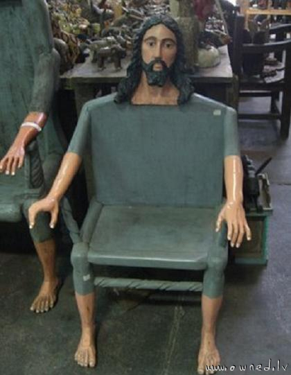The Jesus chair