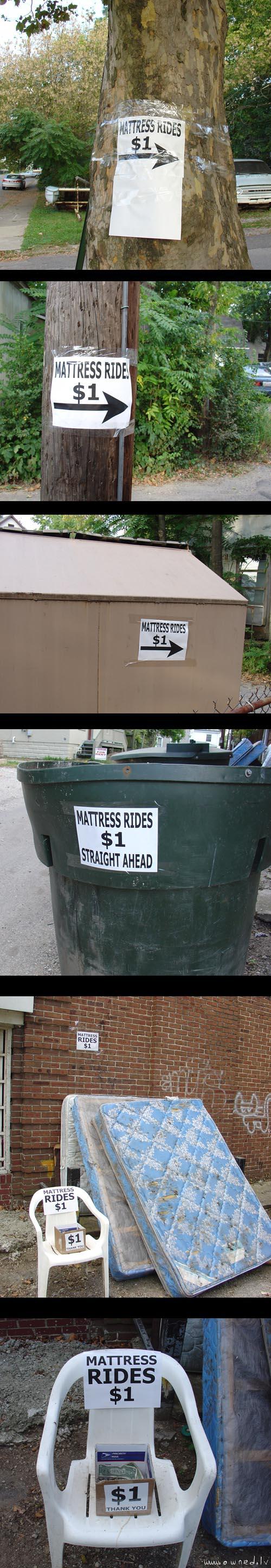 Mattress rides