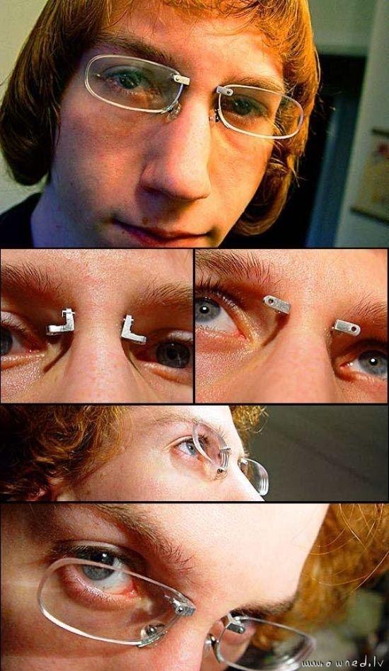 Strange piercings