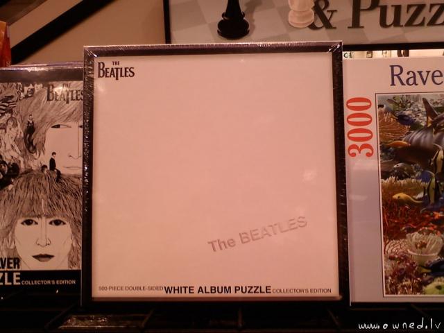 White album puzzle