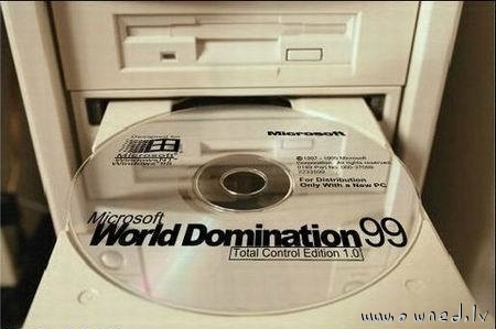 Microsoft World Domination 99