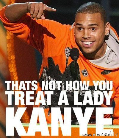 Chris Brown says so