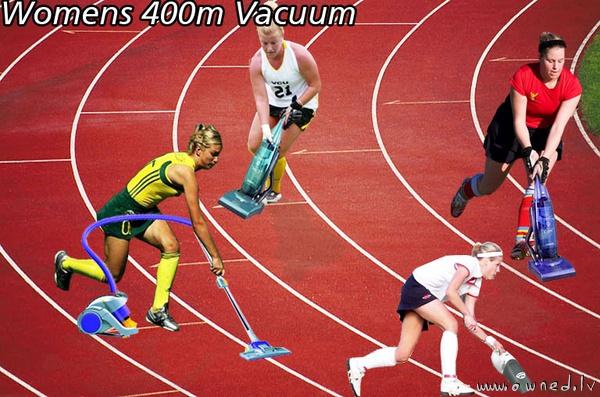 Womens 400m vacuum